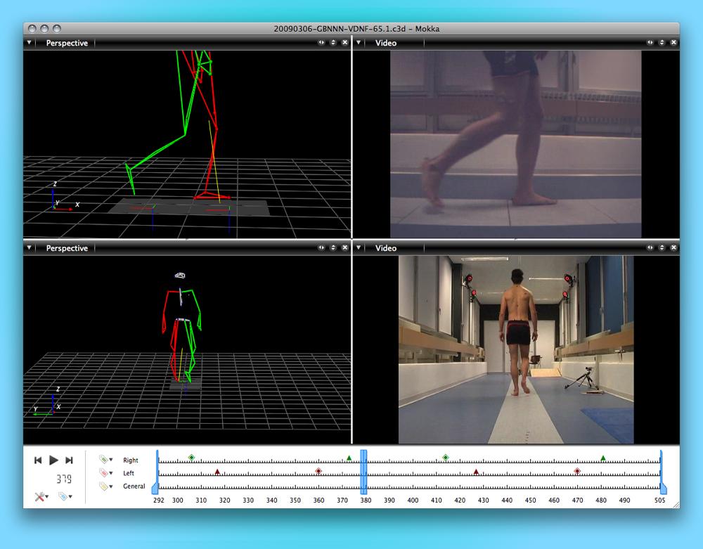 Mokka - Motion Kinematic & Kinetic Analyzer